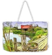Do-00251 A Farm In Hunter Valley Weekender Tote Bag