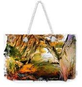 Do-00268 Trees On Water In Avoca Estuary Weekender Tote Bag