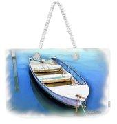 Do-00269 Boat In Killcare Weekender Tote Bag
