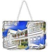 Do-00270 Dreamy Front Of Peppers Convent Weekender Tote Bag