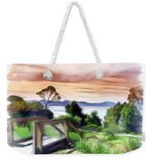 Do-00272 Look Out From Sarah Island Weekender Tote Bag