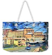 Do-00288 Crowne Plazza From A Hill Weekender Tote Bag