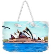 Do-00293 Sydney Opera House Weekender Tote Bag