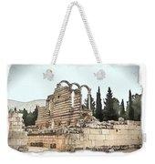 Do-00306 Old Ruins In Anjar Weekender Tote Bag