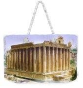 Do-00312 Temple Of Bacchus In Baalbeck Weekender Tote Bag