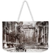 Do-00316 Inside The Temple Of  Bacchus - Baalbeck Weekender Tote Bag
