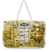 Do-00322 An Old Door And Wall Weekender Tote Bag