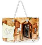 Do-00345 Display Door In The Souk Of Byblos Weekender Tote Bag