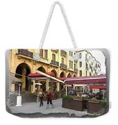 Do-00352 Downtown Coffee Shops Weekender Tote Bag