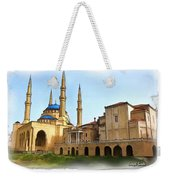 Do-00362al Amin Mosque And St George Maronite Cathedral Weekender Tote Bag