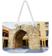 Do-00365 Historic Tomb In Downtown Weekender Tote Bag