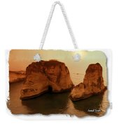 Do-00405 Raouche Sunset Beirut  Weekender Tote Bag