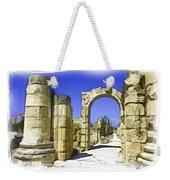 Do-00407 Roman Portico In Tyr Weekender Tote Bag