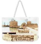Do-00423 Citadel Of Sidon Weekender Tote Bag