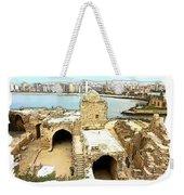 Do-00428 Citadel Looking On Sidon Weekender Tote Bag