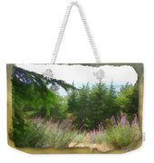 Do-00451 Cedar Trees Forest Weekender Tote Bag
