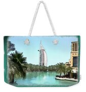 Do-00464 View Of Burj Al-arab Weekender Tote Bag