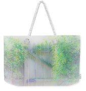 Do I Want To Leave The Garden Weekender Tote Bag