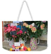 Do Not Touch The Floral Display Weekender Tote Bag