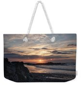 Doagh Island Sunset 3 Weekender Tote Bag