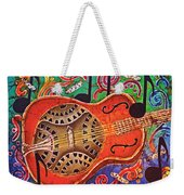 Dobro - Slide Guitar Weekender Tote Bag
