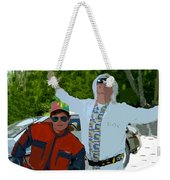 Doc And Marty Weekender Tote Bag