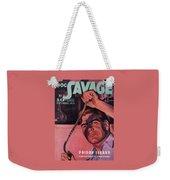 Doc Savage Poison Island Weekender Tote Bag