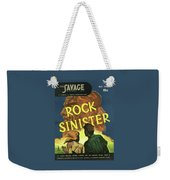 Doc Savage Rock Sinister Weekender Tote Bag