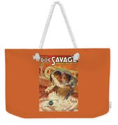Doc Savage The Black Spot Weekender Tote Bag
