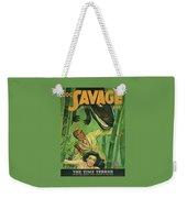 Doc Savage The Time Terror Weekender Tote Bag