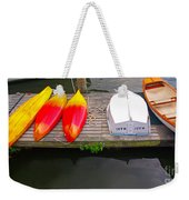 Dock And Boats Weekender Tote Bag