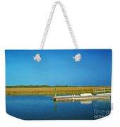 Dock And Marshes Weekender Tote Bag