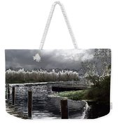 Dock At Dusk Weekender Tote Bag