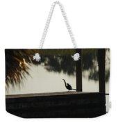 Dock Bird In Color Weekender Tote Bag