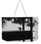 Dock Bird Weekender Tote Bag