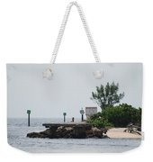 Dock Girl Weekender Tote Bag