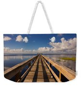 Dock On The Lake Weekender Tote Bag