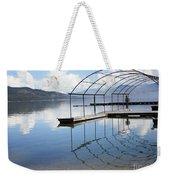 Dock Reflection Weekender Tote Bag