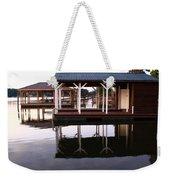 Dock Reflections Weekender Tote Bag
