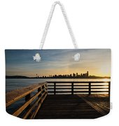 Dock With A View Weekender Tote Bag