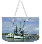 Docked In Port Orange Weekender Tote Bag