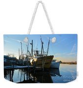Docks At Darien  Weekender Tote Bag
