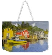 Docks Of Northwest Cove - Nova Scotia Weekender Tote Bag