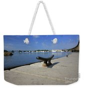 Dock's View Weekender Tote Bag