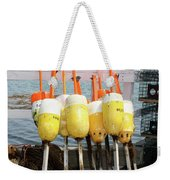 Dockside Huddle Weekender Tote Bag