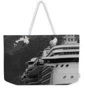 Dockside In Skagway Weekender Tote Bag