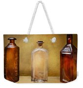 Doctor - Bitters  Weekender Tote Bag by Mike Savad