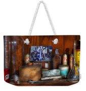 Doctor - My Cluttered Space Weekender Tote Bag