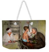 Doctor - At The Pediatricians Office 1925 Weekender Tote Bag