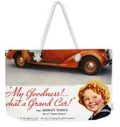 Dodge Automobile Ad, 1936 Weekender Tote Bag by Granger
